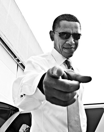 Here's A Thought :: Hail to the Chiefs - ElementsBarack Obama Swagger