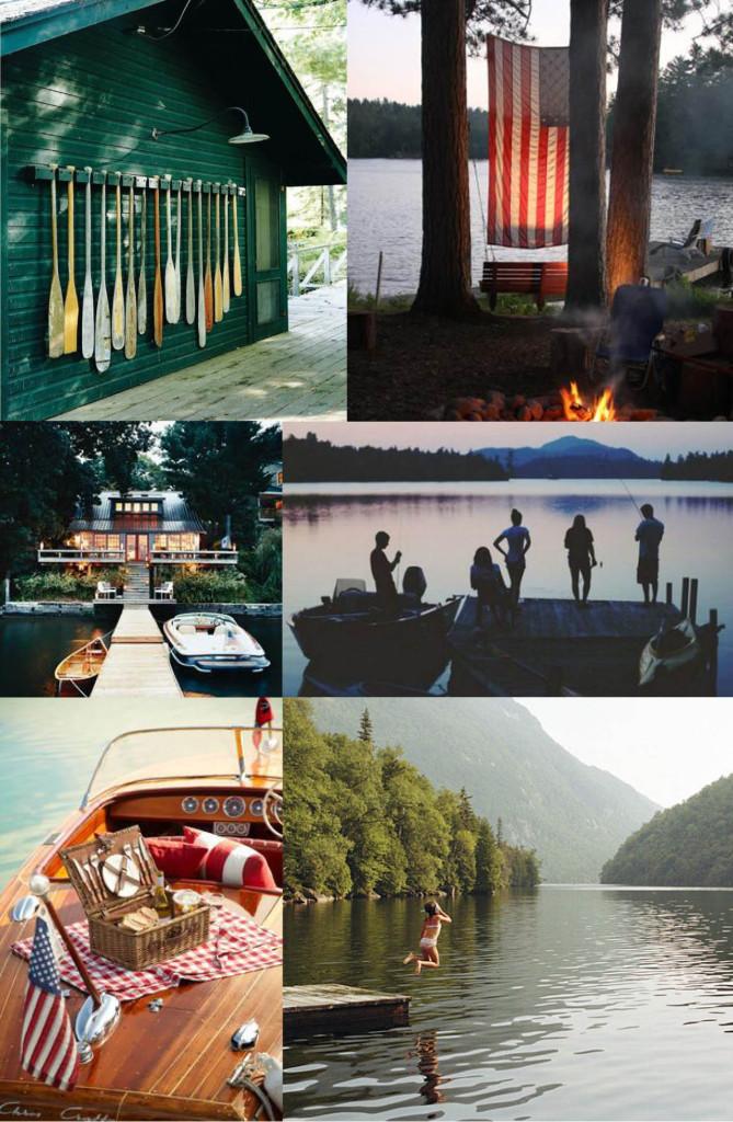 Vintage Lake_moodboard